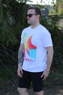Local Celebrity Herren T-Shirt LC WAVE CREW Größe M