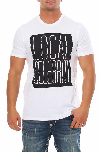 Local Celebrity Herren T-Shirt SHAKEDOWN CREW Größe L