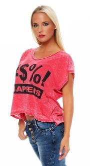 Local Celebrity Damen T-Shirt SHIT HAPPENS Größe S