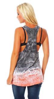Religion Damen T-Shirt Top COVEN WASH VEST B113CVT52 M