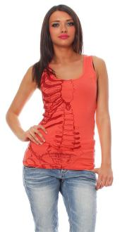 Iron Fist Damen T-Shirt  Top Caged Rib Tank