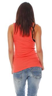 Iron Fist Damen T-Shirt  Top Caged Rib Tank