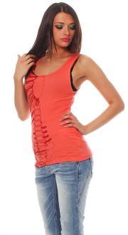 Iron Fist Damen T-Shirt  Top Caged Rib Tank Größe L
