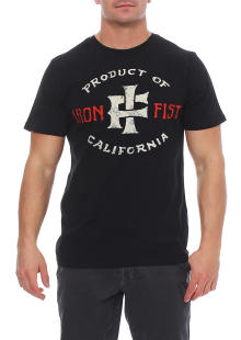Iron Fist Herren T-Shirt Kurzarmshirt Shirt PRODUCT OF...