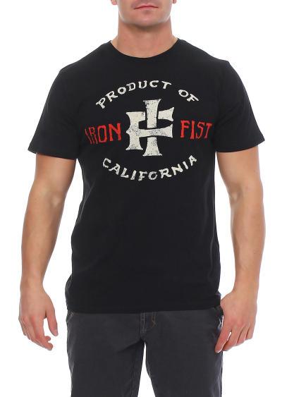 Iron Fist Herren T-Shirt PRODUCT OF CALIFORNIEN black Größe M