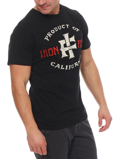 Iron Fist Herren T-Shirt PRODUCT OF CALIFORNIEN black Größe XL