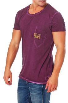 RioRim Herren T-Shirt Kurzarmshirt Shirt Ogima royal