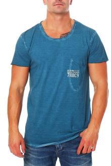 RioRim Herren T-Shirt Kurzarmshirt Shirt Ogima ocean