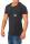 RioRim Herren T-Shirt Kurzarmshirt Shirt Ogima black