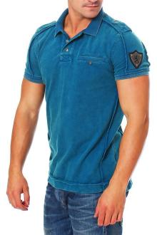 RioRim Herren Poloshirt T-Shirt Kurzarmshirt Shirt Liwanu...