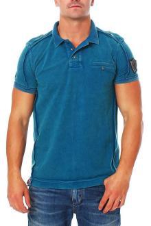 RioRim Herren Poloshirt  T-Shirt Liwanu ocean S