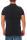 RioRim Herren Poloshirt T-Shirt Kurzarmshirt Shirt Liwanu  black