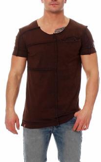 RioRim Herren T-Shirt Kosuni braun M