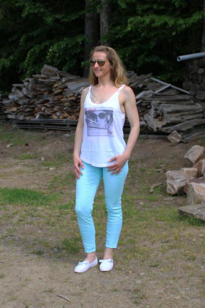 Local Celebrity Damen Shirt Tank Top T-Shirt LOOKOUT