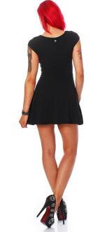 all about eve Damen Kleid Sommerkleid schwarz L (12)