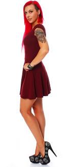 all about eve Damen Kleid Sommerkleid Partykleid burgund