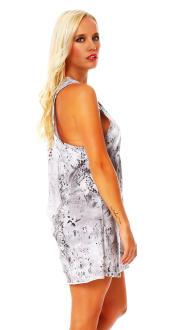 Religion Damen Dress Kleid Shirt Kurzarmshirt Top LIVE...