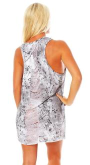 Religion Damen T-Shirt LIVE FAST Dress - B124LTD51 XS