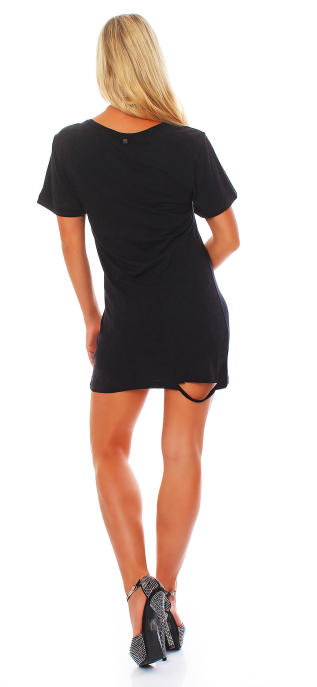 all about eve Damen Kleid Dress BOYFRIEND black