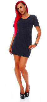 all about eve Damen Kleid Dress BOYFRIEND navy