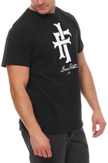 Iron Fist Herren T-Shirt Kurzarmshirt Shirt LOGO - T-Shirt schwarz