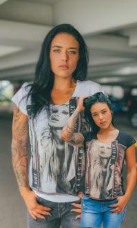 Religion Damen T-Shirt RIOT TEE - B115RIT65