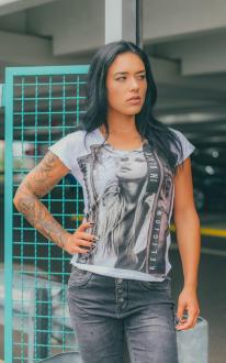 Religion Damen T-Shirt RIOT TEE - B115RIT65 weiß XS