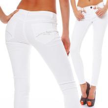 SCORPION BAY Damenjeans Stretch Jeans PANT TWILL WPT2930 W28