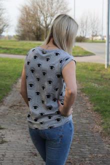 Relish Damen T-Shirt Shirt CROFT M