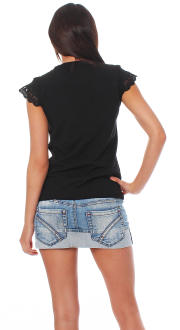 Relish Damen T-Shirt Shirt Pandem L