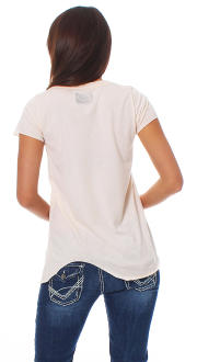 Local Celebrity Damen T-Shirt Shirt Top Kurzarm CAN`T - W125-LOC2720-PPK Größe M