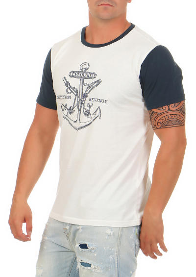 Tee Library Herren T-Shirt Obsession With Revenge  L