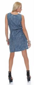 M.O.D Damen Jeans Kleid Dress DR100
